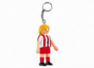 Playmobil - 7875 - Soccer Player Keychain