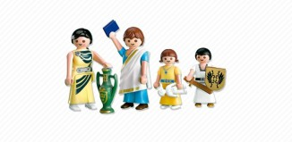Playmobil - 7922 - Roman Family