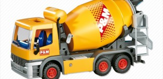Playmobil - 7932 - Cement Mixer