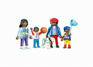 Playmobil - 7980 - African / African American Family
