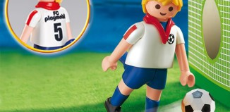 Playmobil - 7984 - Soccer Player - England