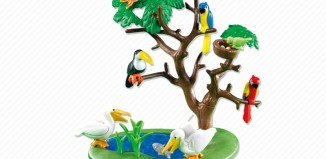 Playmobil - 7994 - Exotic Birds with Tree