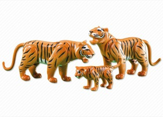 Playmobil - 7997 - 2 Tigers with Cub